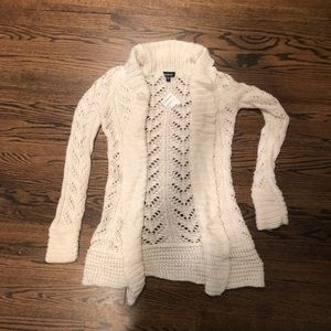 BEBE white sweater
